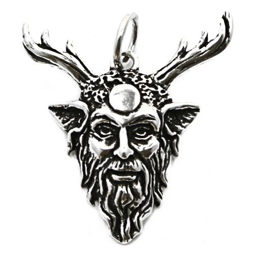Pan God of the Wild Silver Pendant (P066)